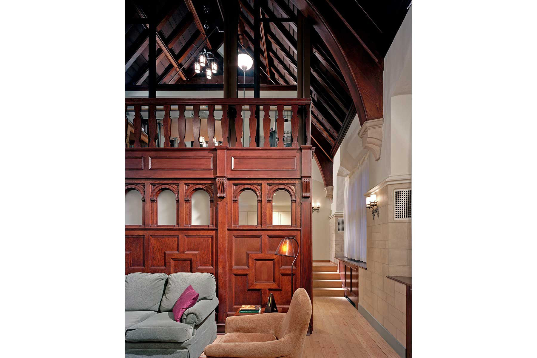 Davenport College Yale University Marguerite Rodgers Interior Design